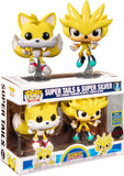 Funko Sonic The Hedgehog - Super Tails & Super Silver 2 Pack (Exclusive)