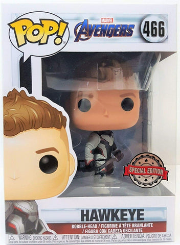 Funko Pop Marvel Avengers End Game Hawkeye (Team Suit)
