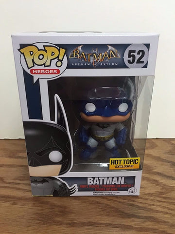 "DC Comics Funko Pop! ""Batman Exc"" Figure + Pop Protector"