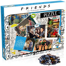 Friends TV Series Scrapbook 1000 Piece Jigsaw Puzzle Game Set