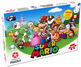 Winning Moves Mario and Friends 500 Piece Jigsaw Puzzle