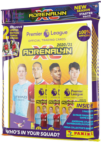Panini Premier League 2020/21 Adrenalyn XL STARTER