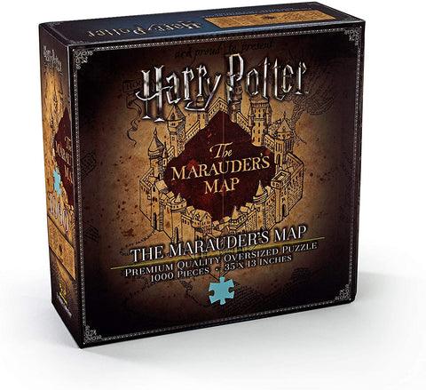 The Noble Collection Marauders Map Jigsaw Puzzle (NN9457) 1000pc