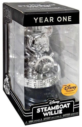 Funko Funko Pop Year One Funko Disney Treasures Steamboat Willie Exclusive Vinyl Trophy