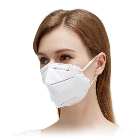 N95 KN95 Face Mask Unvalved Layer Protection Anti-dust Flu