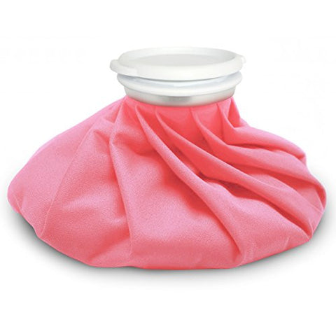 AZMED Ice Bag - Hot and Cold Reusable Pack 9 inch - Pink Color