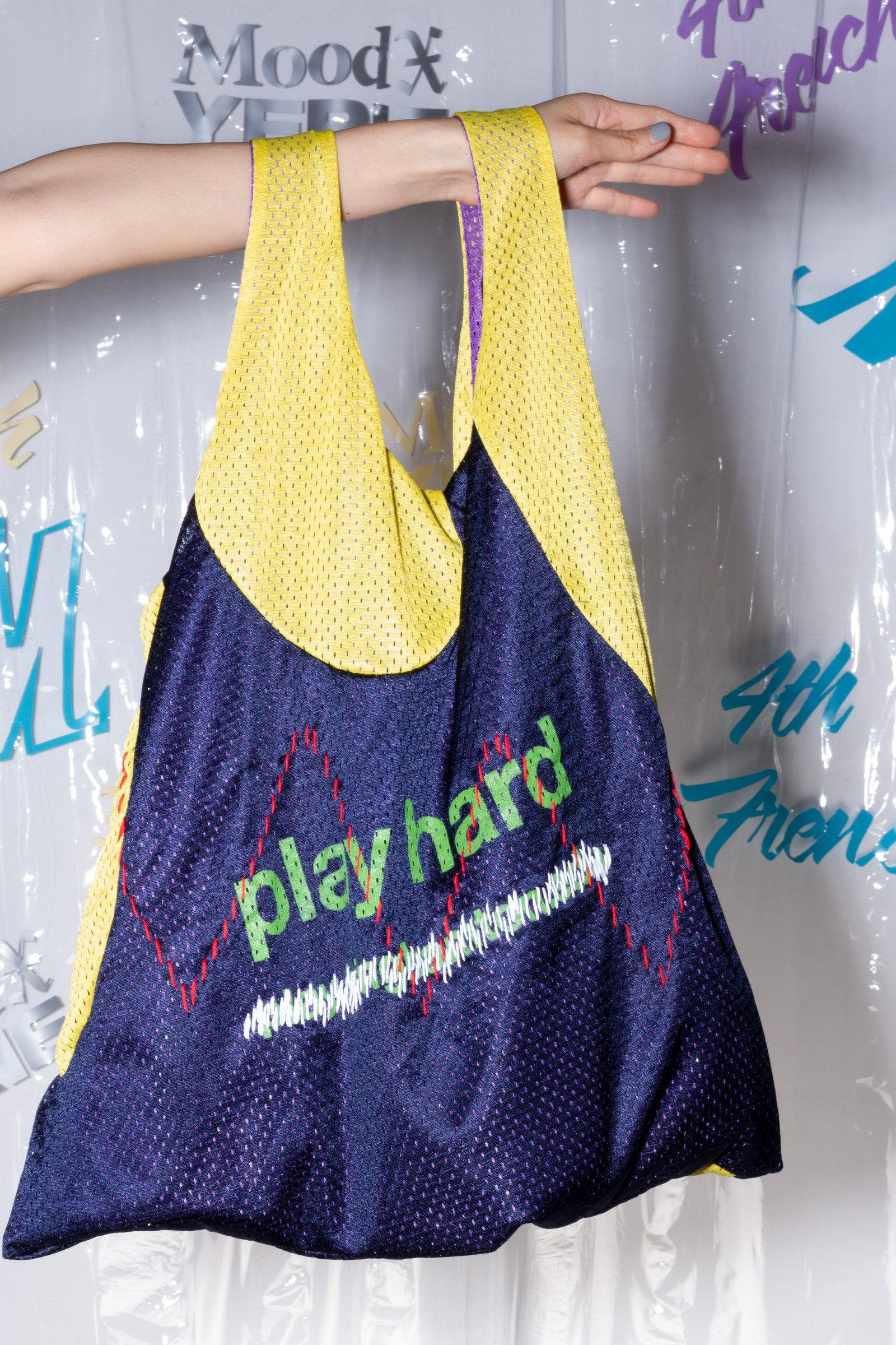 Play Hard Tote Bag, Mood X Yerie