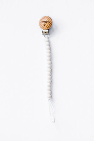 miniSTRANDS™ Teething Pacifier/Dummy Clip
