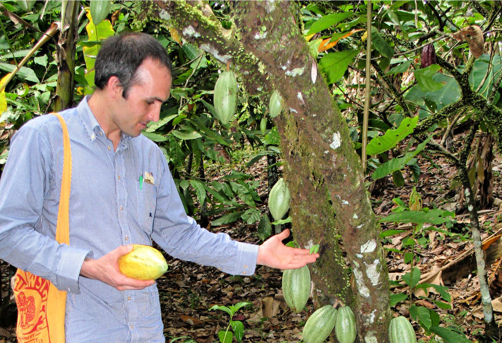 Taza founder Alex Whitmore early cacao sourcing