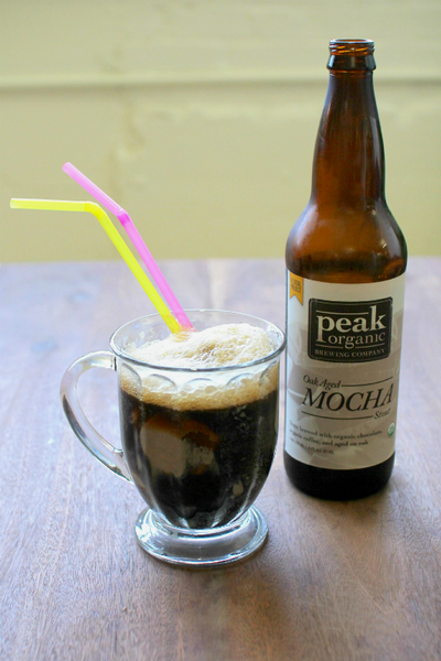 Chocolate Ice Cream and Stout Float