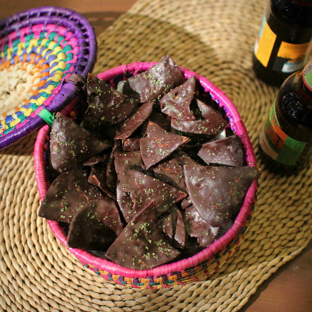 Take Dipping Out Of The Equation With This Chocolate Covered Tortilla Chips Recipe