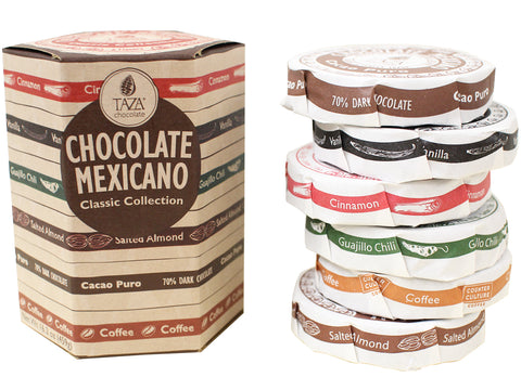 Taza Chocolate Mexicano Classic Collection Sampler