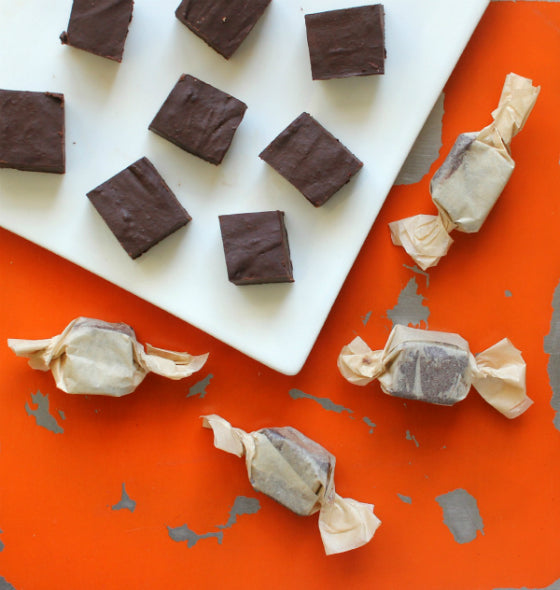 Dairy-Free Coconut Chocolate Fudge