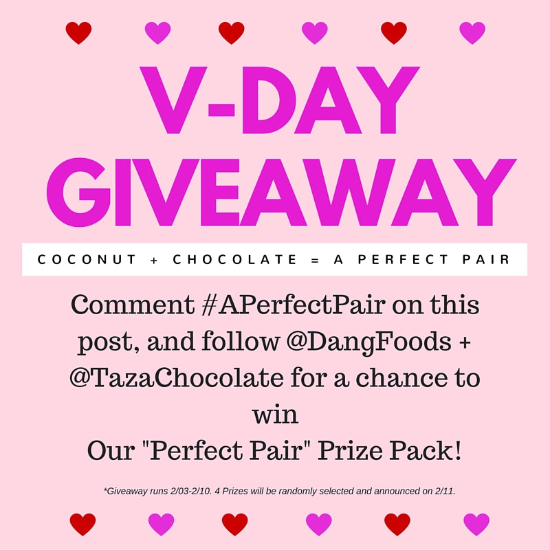 V-Day Giveaway Coconut + Chocolate = A Perfect Pair
