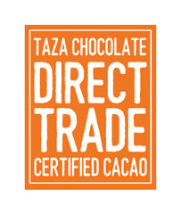 Taza Direct Trade Certified badge