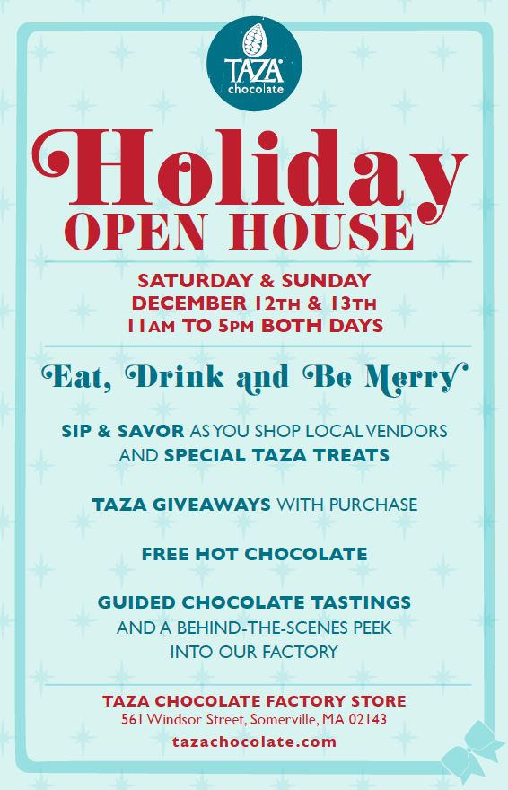 Taza Holiday Open House 2015