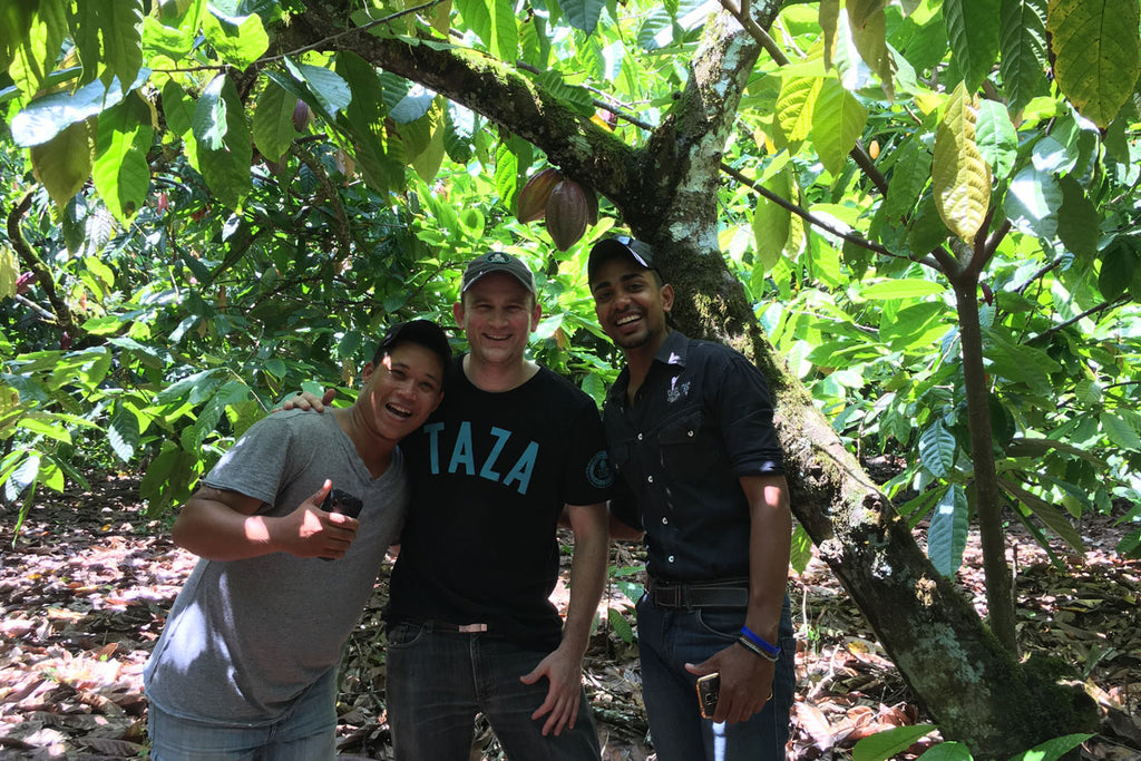 Taza Chocolate Direct Trade Finca Elvesia Partner Profile | Jesse and Finca Elvesia Team