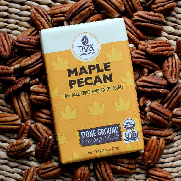 Taza Chocolate Maple Pecan