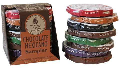 Taza Chocolate Mexicano Sampler
