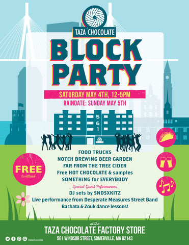Taza Chocolate Annual Spring Block Party
