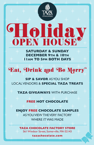 Taza Chocolate Holiday Open House