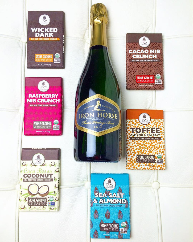 How to Pair Chocolate with Wine | Photo Credit: @vjwines