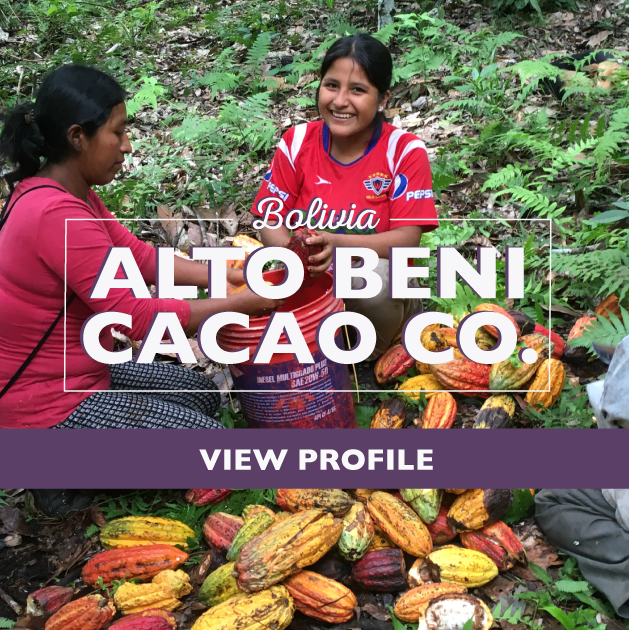 Taza Chocolate Sourcing Partner: Alto Beni Cacao Co. Partner Profile, Bolivia