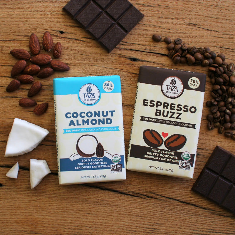 Espresso Buzz Bar & Coconut Almond Bar