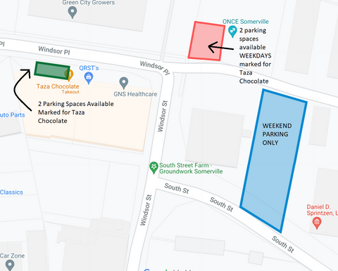 map of available parking
