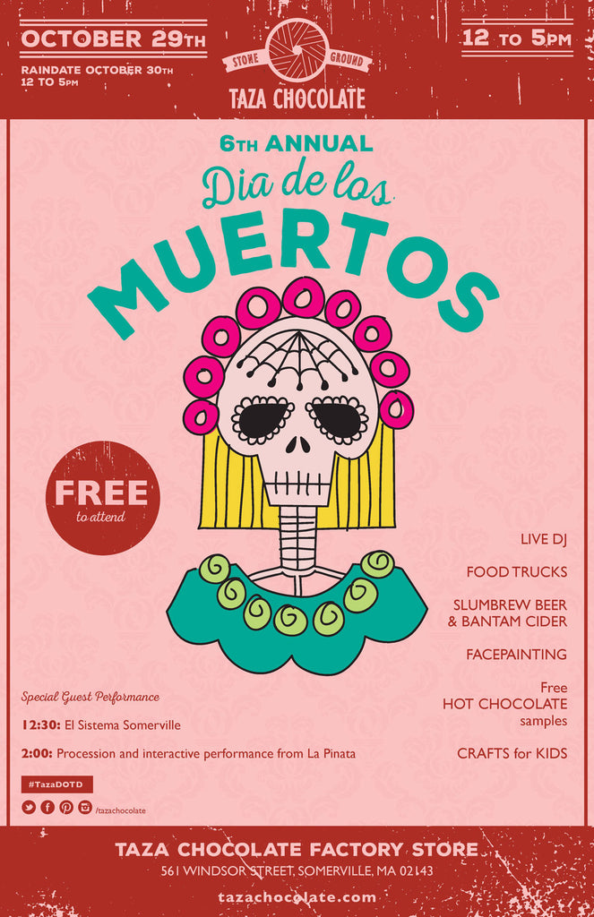 Dia de los Muertos Celebration at the Factory!
