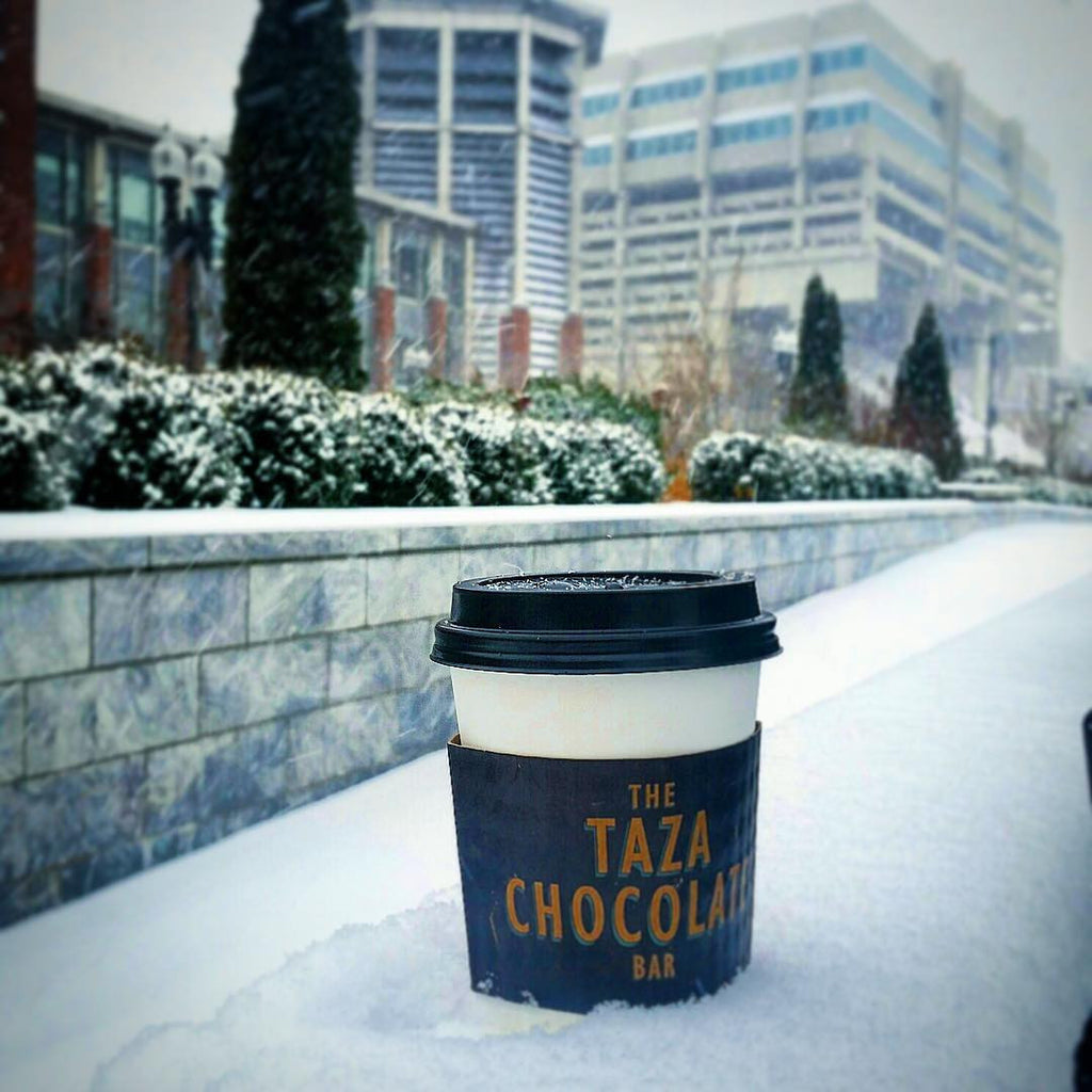 Hot Chocolate from The Taza Chocolate Bar in Boston, MA