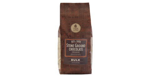 80% Dark 5lb bag Baking Chocolate - Taza Chocolate