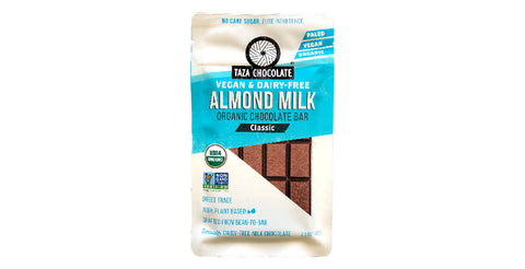 Taza dairy-free plant-based Almond Milk Chocolate