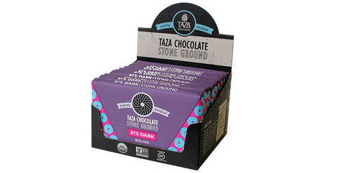 Taza Chocolate Belize - 87% Dark Chocolate Case Box
