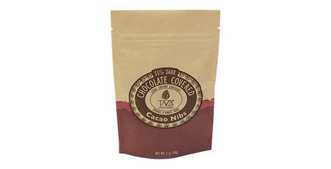 Chocolate Covered Nibs Bag - Taza Chocolate