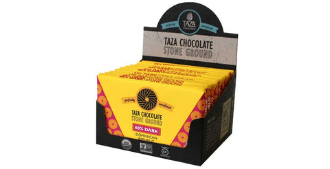 Taza Chocolate Dominican Republic - 60% Dark Chocolate Case Box