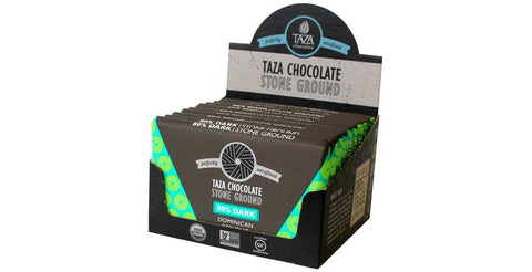Taza Chocolate Dominican Republic - 80% Dark Chocolate Case Box