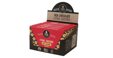 84% Dark Haiti Chocolate Case Box 10 Bars - Taza Chocolate
