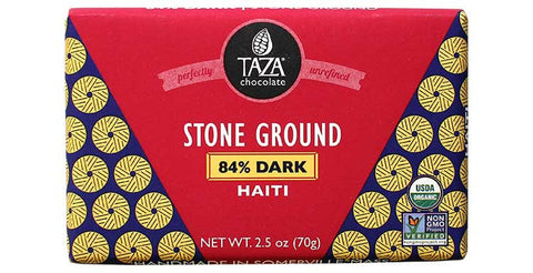 Taza Chocolate Haiti - 84% Dark Chocolate Bar