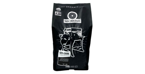 Taza 60% Dark Baking Chocolate 3kg bag