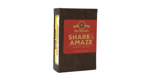 Share and Amaze Bar Trio Image