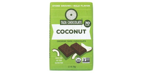 Coco Besos Coconut Chocolate Bar - Taza Chocolate