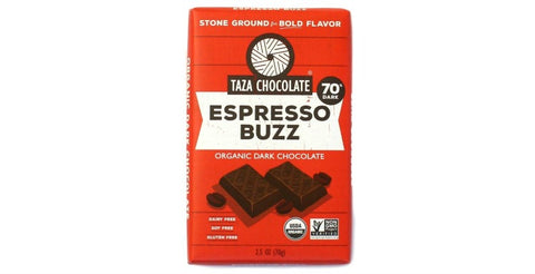 Espresso Buzz Chocolate Bars - Taza Chocolate