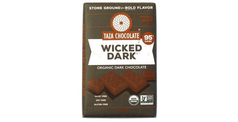95% Wicked Dark Chocolate Bar - Taza Chocolate
