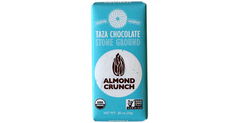 Almond Crunch Tazitos Chocolate Mini-Bars - Taza Chocolate