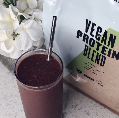Naomie's Vegan Protein Breakfast Smoothie