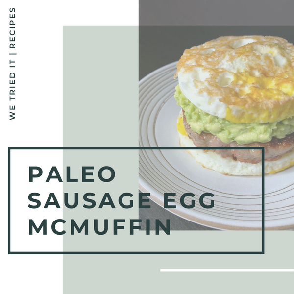 We Tried It - Sausage Egg McMuffin #fail