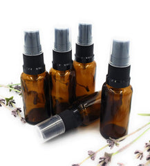 30ml Amber Glass Spray Bottles