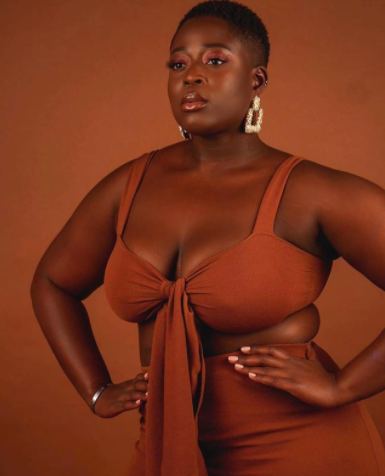 Sincerely nude plus size model on instagram