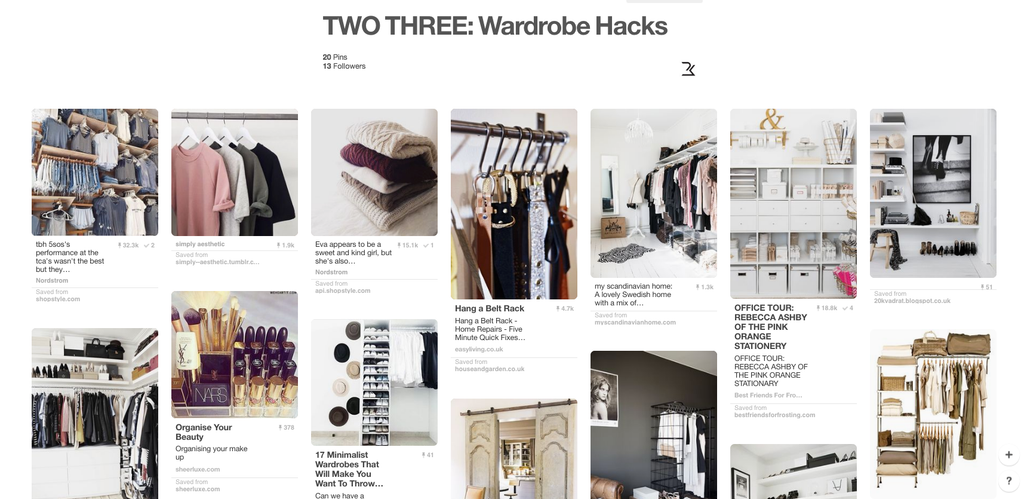 ShopTwo Three Wardrobe Hacks Pinterest Board